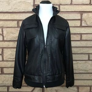 Gorgeous Steve Madden faux leather jacket